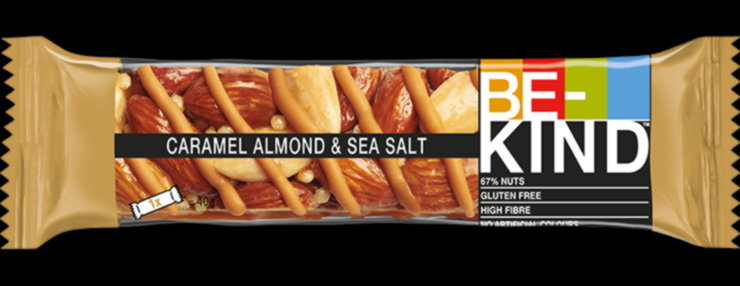 Caramel almond & sea salt