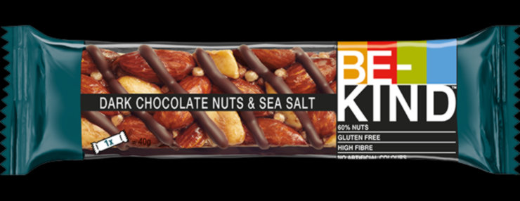 BE-Kind Dark Chocolate Nuts Sea Salt